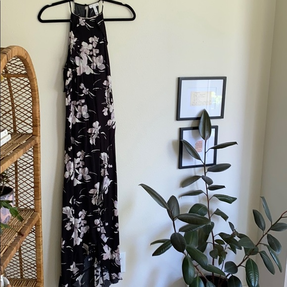 Leith Dresses & Skirts - Maxi floral black dress